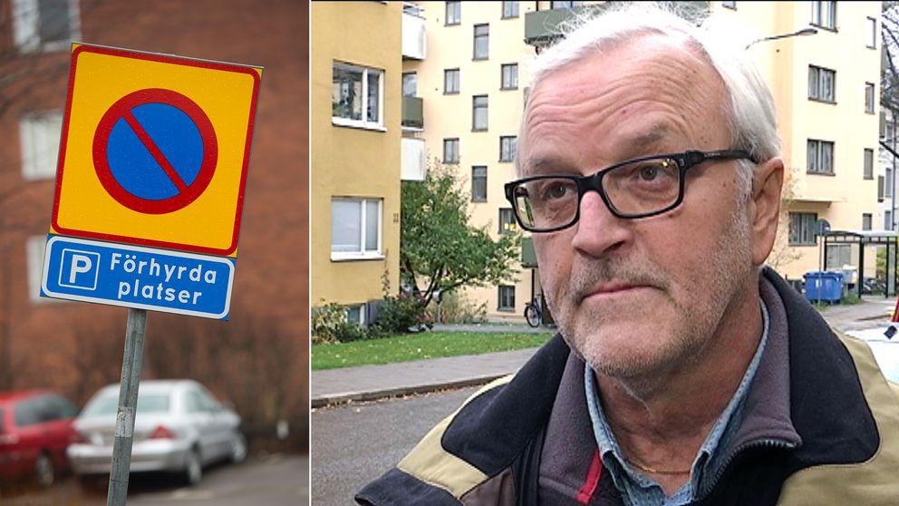 Lorentz Berglund, boendeparkering