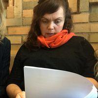 Linda Steen och hennes ombud