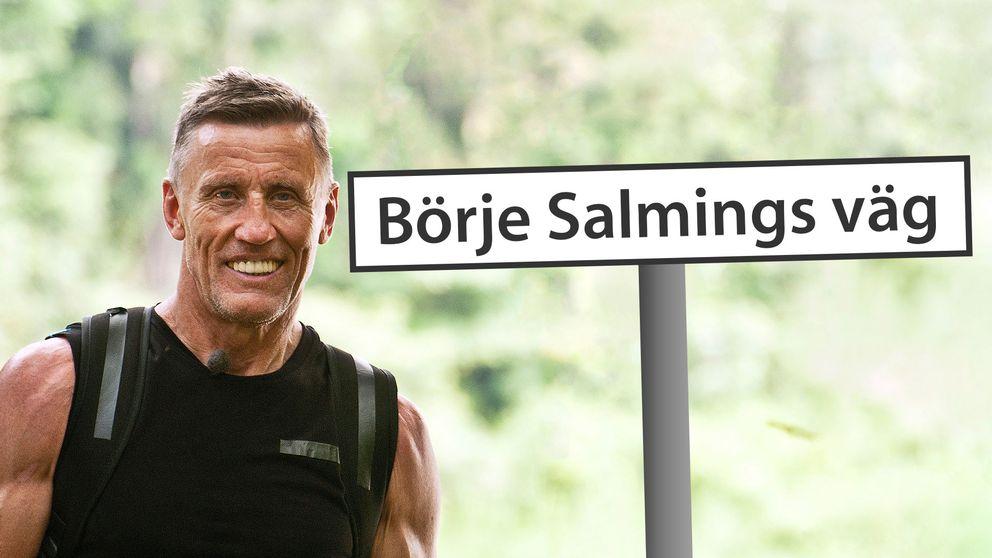 Börje Salming kan få egen väg i Kiruna | SVT Nyheter
