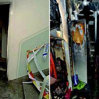 I två av hemmen bodde högt uppsatta chefer inom Familjebostäder och en av de drabbade var vd:n Per-Henrik Hartmann som fick bensin hällt över sig.
