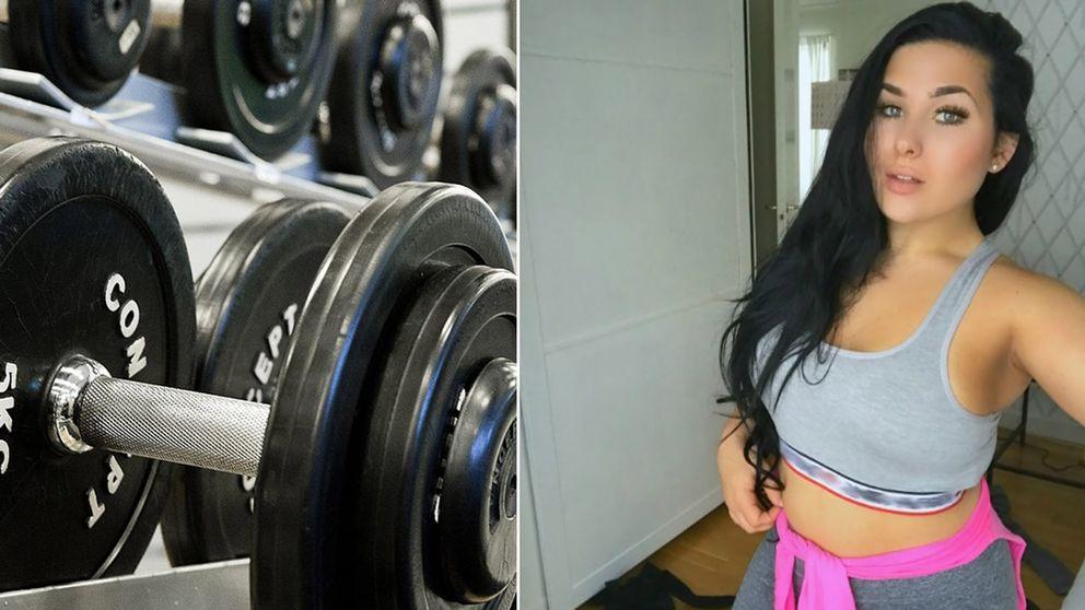tjejer på gymmet