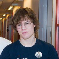 Pontus Nyström är en av personer som testar den nya mätaren.