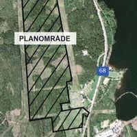 Karta Planområde