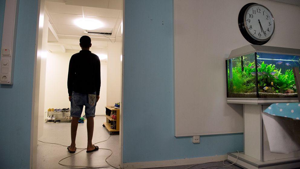 Flyktingboende någonstans i Sverige.