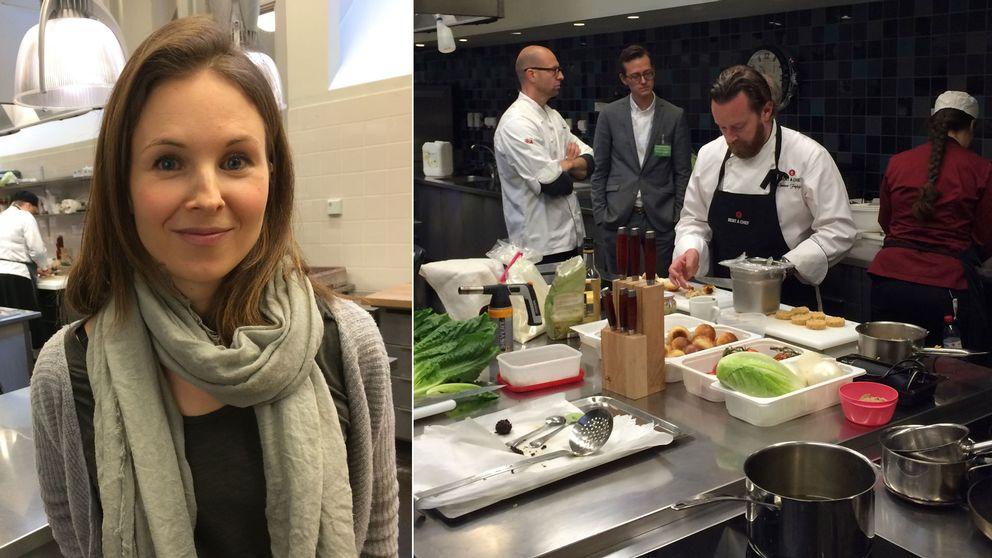 Lina Gebäck, köket på Grythytteakademin