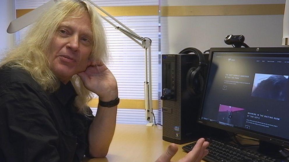 Robert Eklund forskar kring katters dialekter