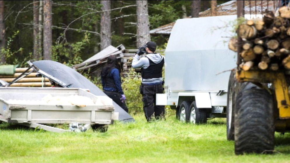 Polisen gör razzia mot jaktbrottsmisstänkta