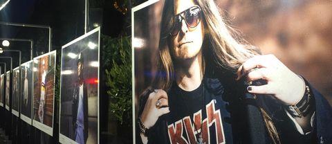 Peter Ahlborg säljer Faktum och är ett stort Kiss-fan