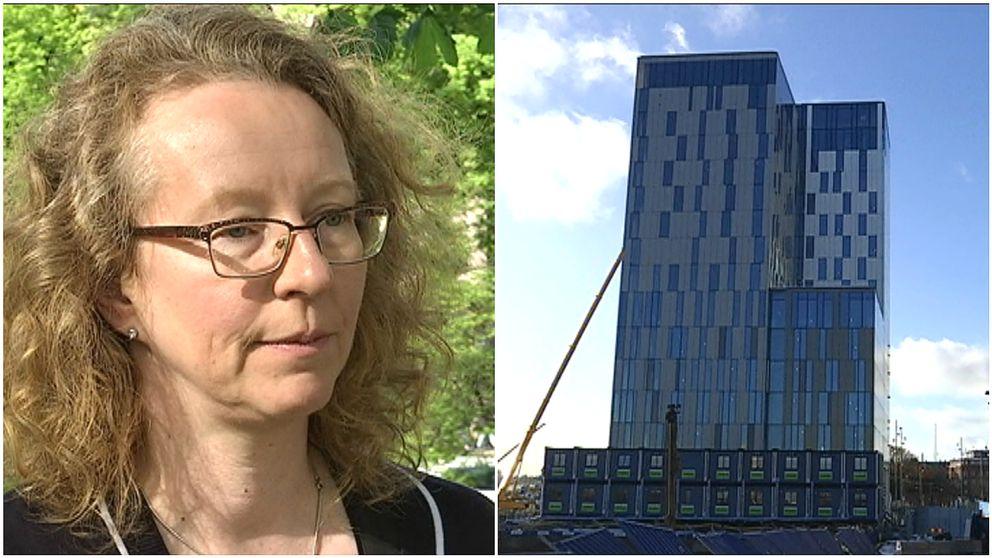 Yvonne Dellmark, Läkarföreningen och NKS exteriör
