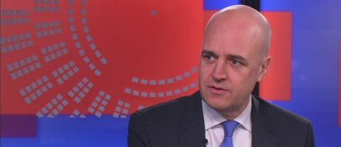 Fd statsministern Fredrik Reinfeldt