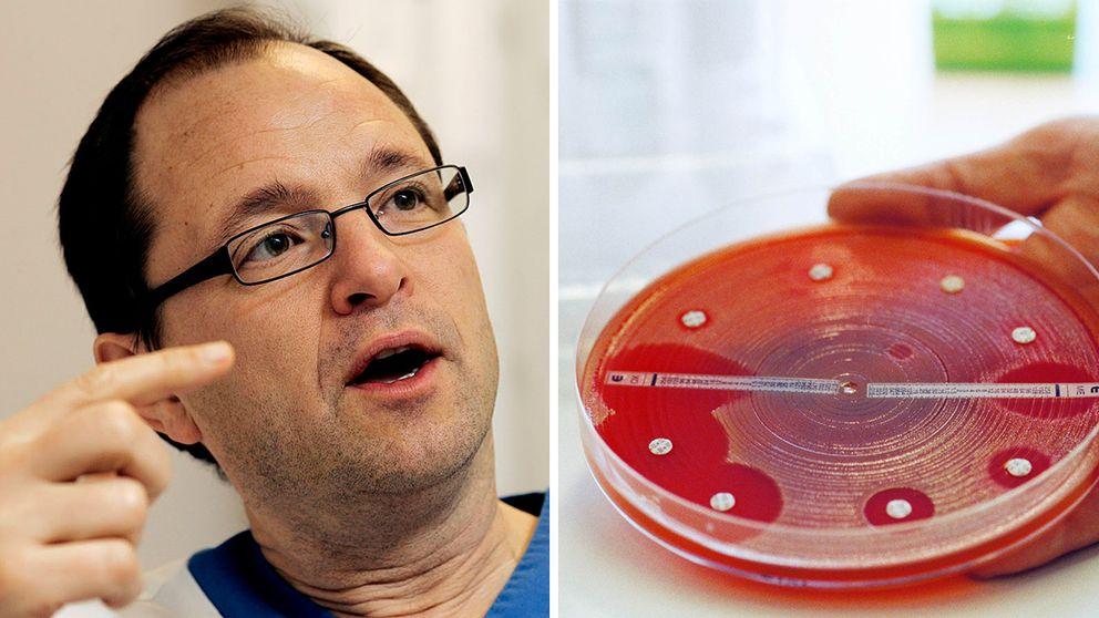 Björn Olsen är professor och infektionsläkare vid Akademiska sjukhuset i Uppsala.