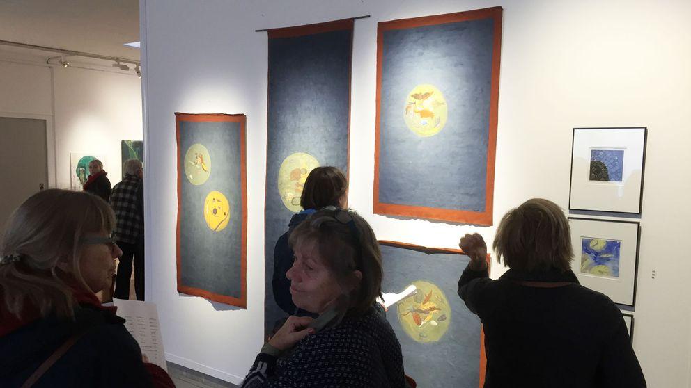 Utställningen på Örebro läns museum.