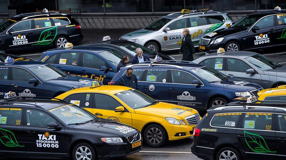 Taxibilar i Stockholm