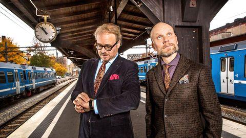 Fredrik Lindström och Kristian Luuk.