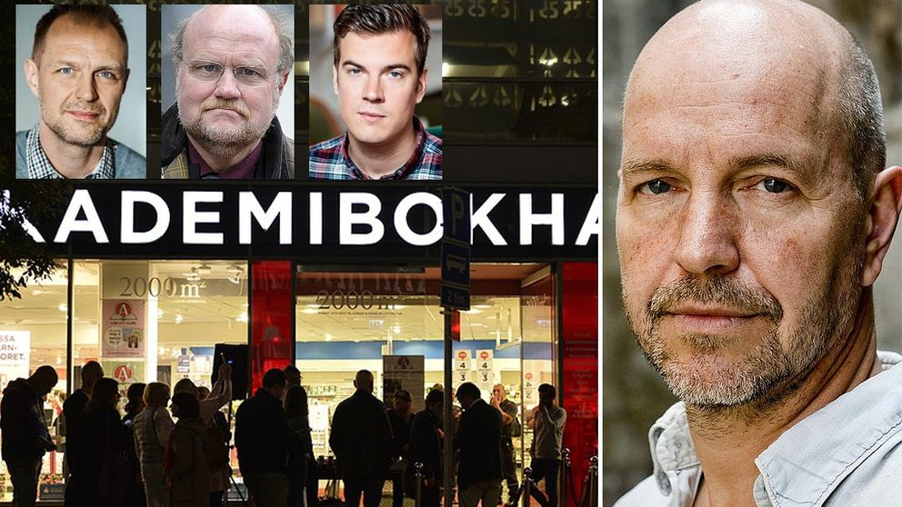 Författarförbundet, Journalistförbundet och Svenska PEN om Akademibokhandelns inställda författarsamtal med Gellert Tamas.