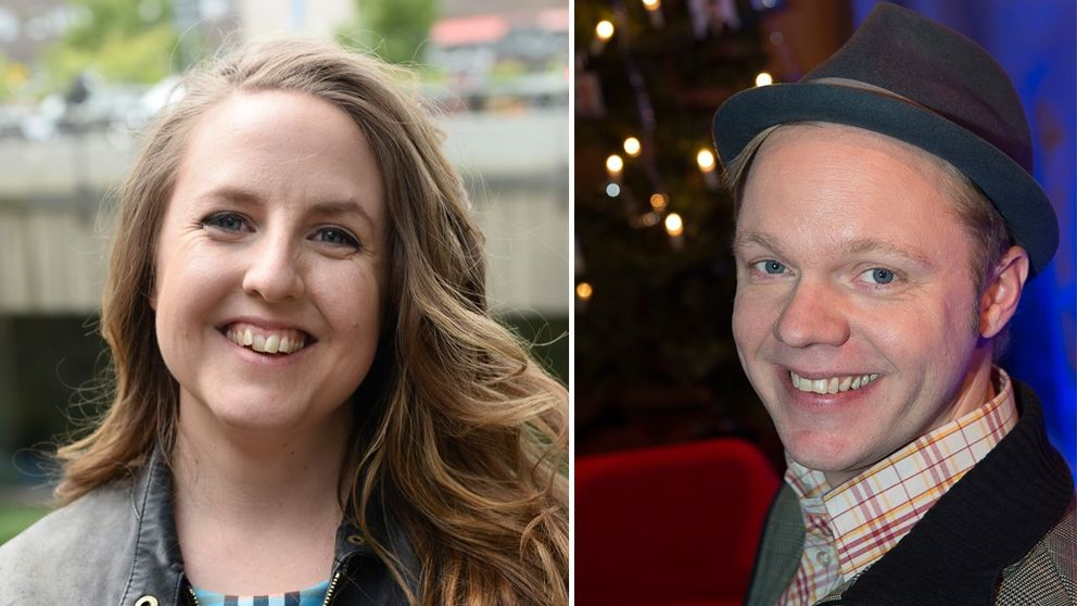 Stina Stoor och Olof Wretling