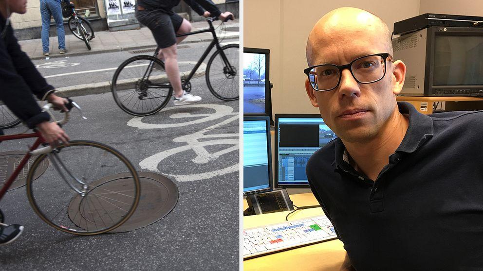 Johan Nordström reporter på SVT Nyheter Småland