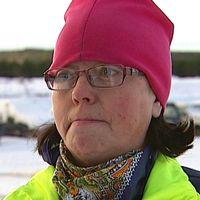 Bild på Eva-Britt Edin, ansvarig återvinningscentralerna Strömsunds kommun