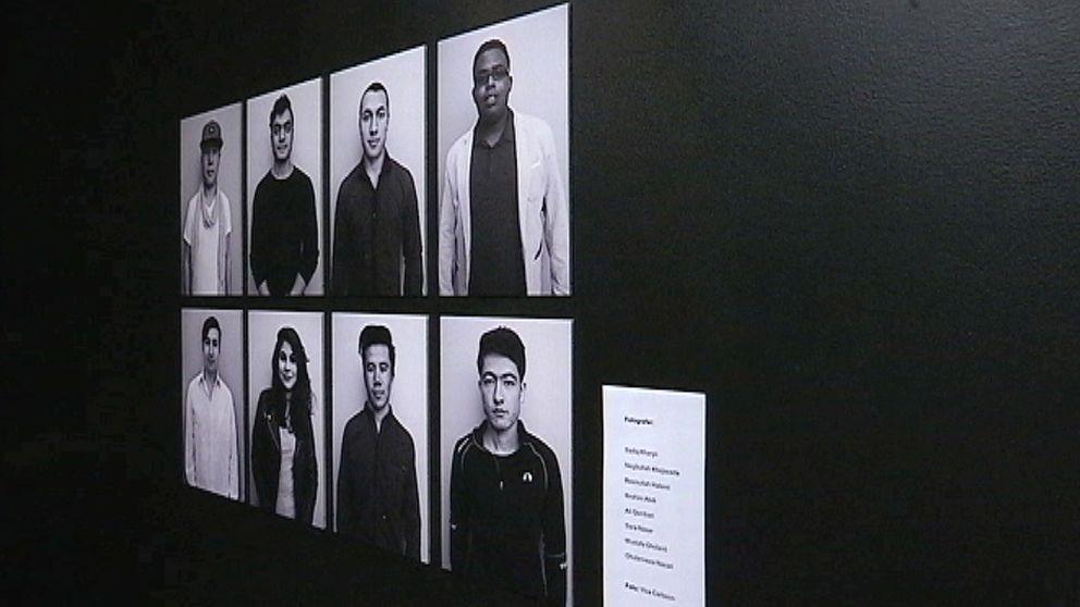 Utställning på Unga Magasinet i Sundsvall
