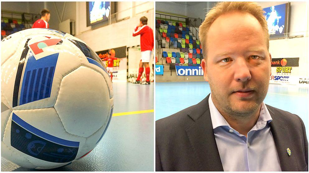 Landskamper i futsal spelas i Jönköping