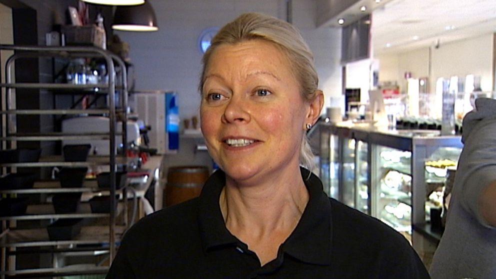 – Det är ett fantastiskt initiativ. Det samlar Hofors och det samlar pengar till bra saker, säger Carola Snar.