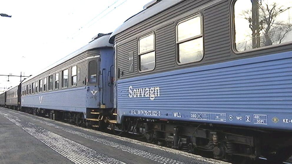 SJ:s nattåg