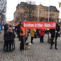 Manifestation i Jönköping
