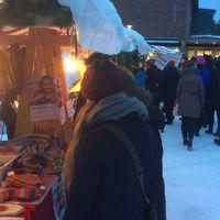 Julmarknad på Gammlia i Umeå.