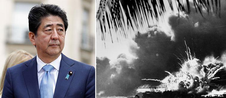 Japans premiärminister Shinzo Abe blir den första sittande japanska premiärministern att besöka flottbasen Pearl Harbor i den amerikanska delstaten Hawaii.