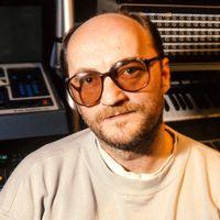 """Anders """"Henkan"""" Henriksson i studion 1988"""