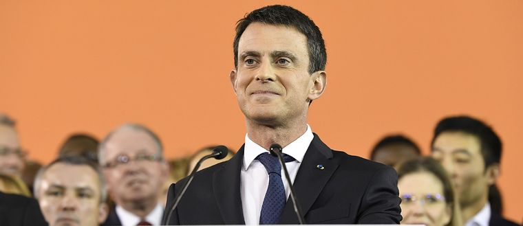Manuel Valls ställer upp i det franska presidentvalet.