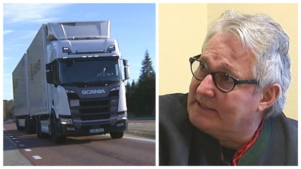 Vägslitageskatt hotar Norrlands inland, anser Strömsunds kommunalråd Göran Bergström (S).