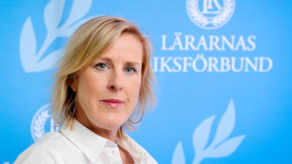 Åsa Fahlén, ordförande i Lärarnas Riksförbund.