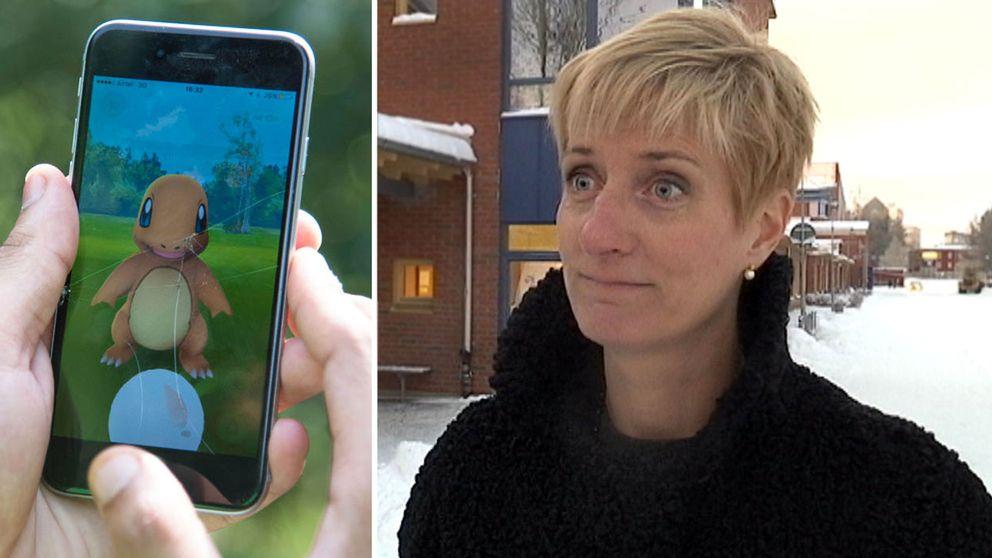Anna-Karin Lindqvist vid Luleå tekniska universitet.