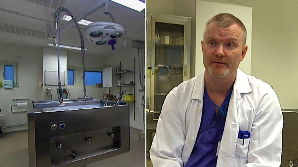 Martin Åhlberg jobbar med obduktioner på Centralsjukhuset i Karlstad.