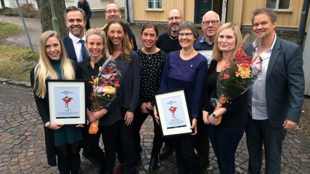 Årets vardagshjältar i Karlstad gruppbild