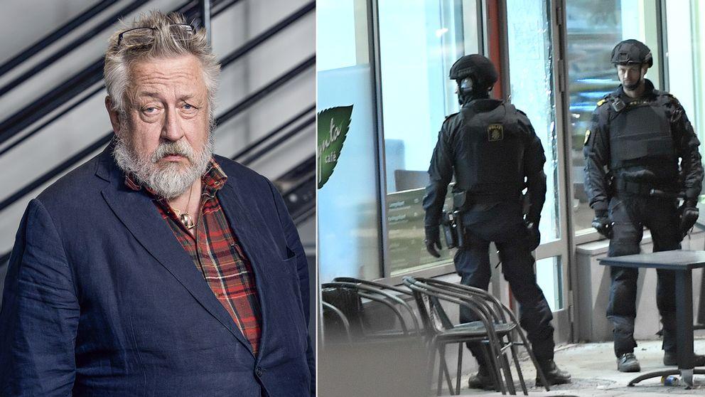 Leif GW, poliser efter dödskjutning i Rinkeby