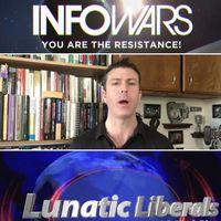 """""""InfoWars"""" och """"Lunatic Liberals"""" är två av de kanaler där totalt påhittade nyheter spridits."""