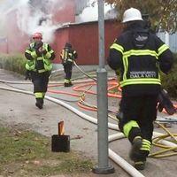 brandmän springer i borlänge rök och Stefan Söderlund