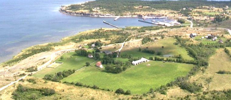Flygbild över Gotland