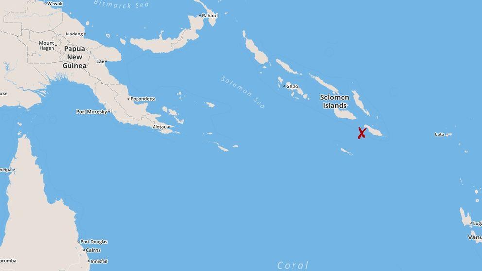 nytt jordskalv vid salomon 246 arna svt nyheter