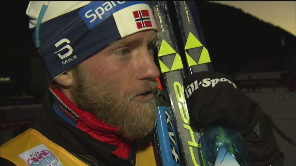 Kritiserad Sundby vill blicka framåt - Sport | SVT.se