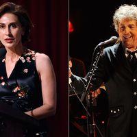 USA:s ambassadör i Sverige, Azita Raji, läste upp Bob Dylans tal på Nobelfesten.
