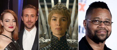 Emma Stone, Ryan Gosling, Lena Heady och Cuba Gooding Jr.