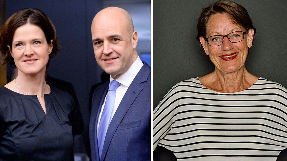 Anna Kinberg Batra, Fredrik Reinfeldt, Gudrun Schyman