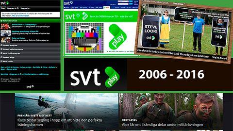 SVT Play fyller 10 år