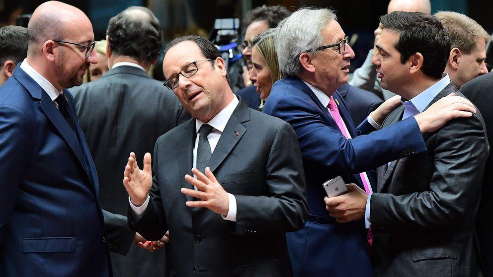 Holland och Juncker vid toppmöte