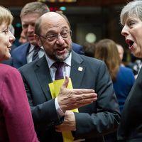 Merkel och May på toppmöte