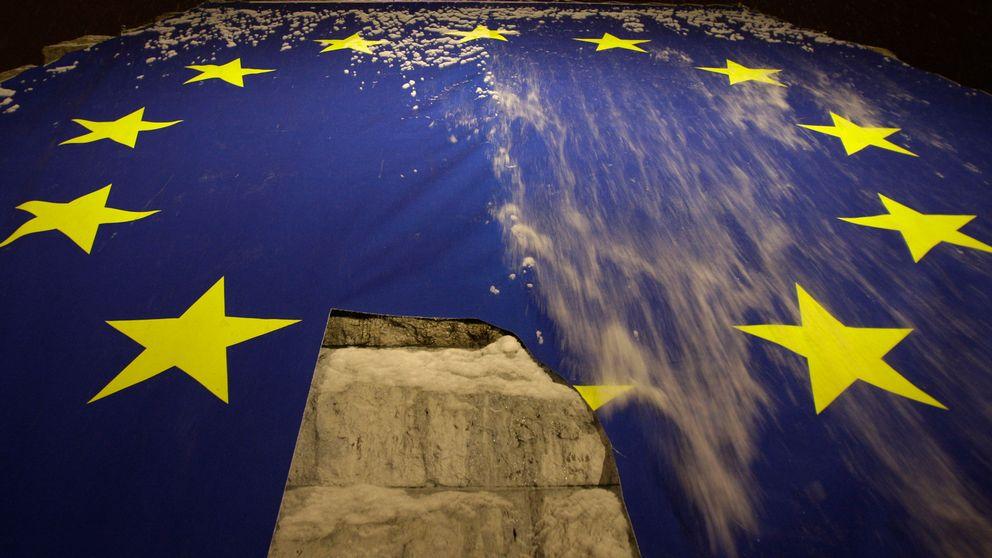 trasig eu-flagga