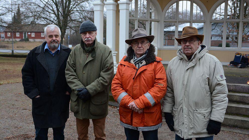 ockupanterna i Hässleholm musikpaviljongen Officersparken